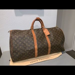 Authentic Louis Vuitton keepall 60 travel duffle